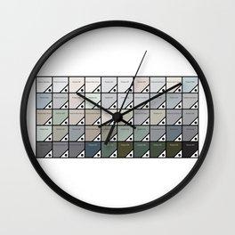 50 Shades Of Grey : Pantone Swatches Wall Clock