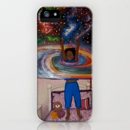 Lest You Come As A Little Child iPhone Case