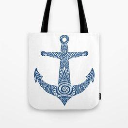 Pattern Anchor Tote Bag