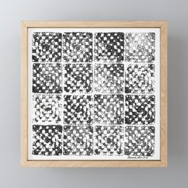 Crochet Impressions: GRANNY Framed Mini Art Print