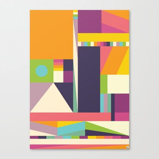 Pablo Face Canvas Print