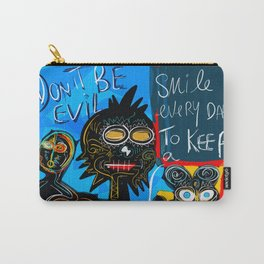 Don't be Evil Street Art Graffiti Carry-All Pouch