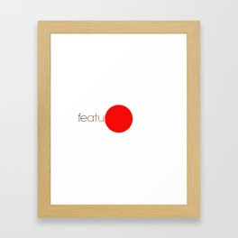 featured Framed Art Print