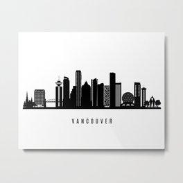 Vancouver Art Print Metal Print