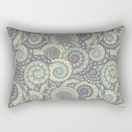 nagual. tribal seamless pattern Rectangular Pillow