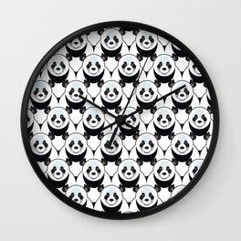Pure Panda Wall Clock