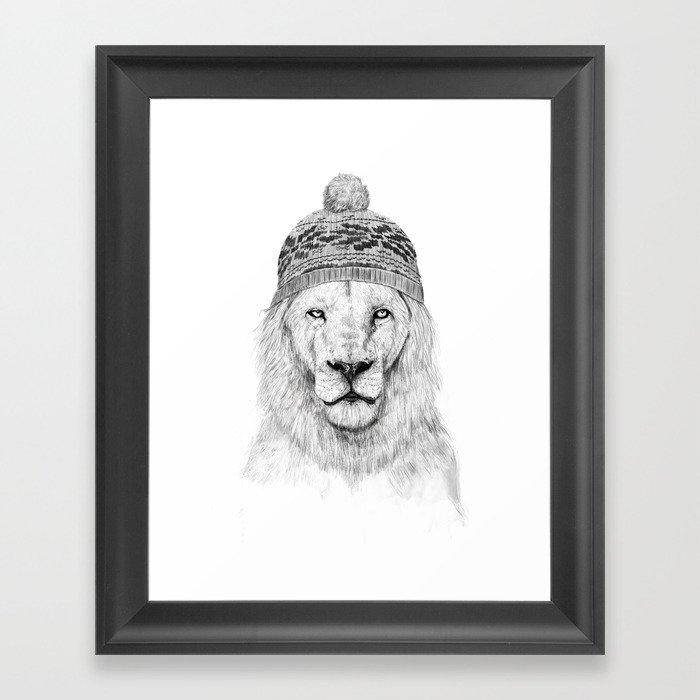 Winter is here I Framed Art Print