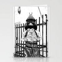 apollonia Stationery Cards featuring asc 589 - La maison close (No trespassing) by From Apollonia with Love