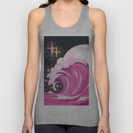 A wave of unconditional love Unisex Tank Top