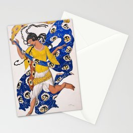 Leon Bakst - The Butterfly, Costume Design for Anna Pavlova - Digital Remastered Edition Stationery Cards