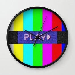 P L A Y *BEEP* Wall Clock