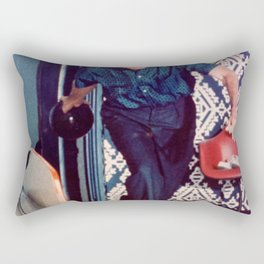 Richard Nixon Bowling Rectangular Pillow