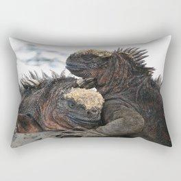 Iguana Love Rectangular Pillow
