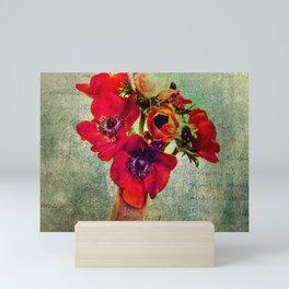 Anemoni Rossi Mini Art Print