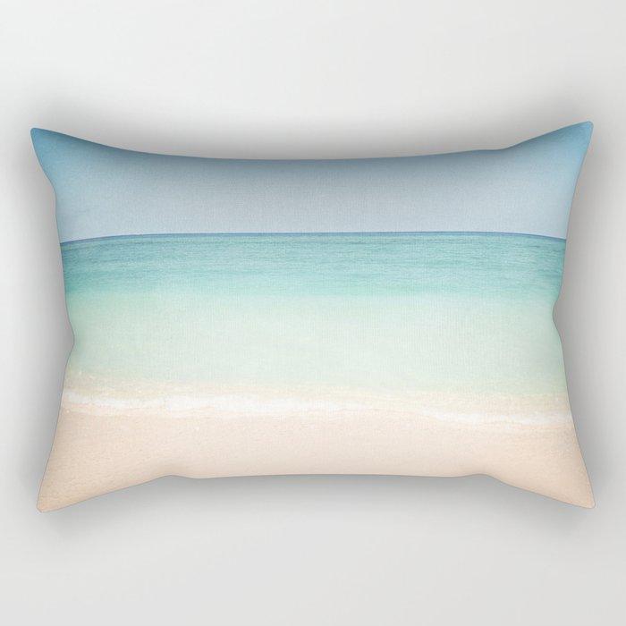 Seven Mile Beach Rectangular Pillow