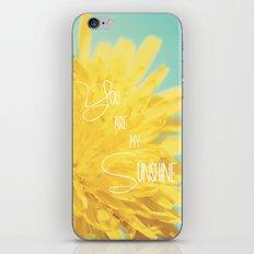 You are my Sunshine iPhone & iPod Skin