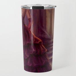 Don't Look Back - fantasy art Travel Mug