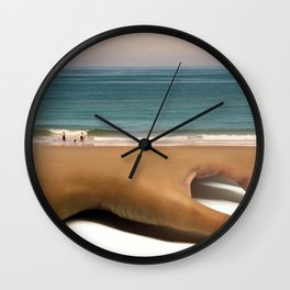 Lukewarm Daisy Wall Clock