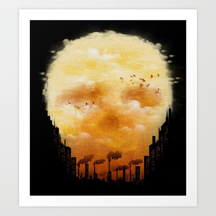 Polluted Promises Art Print