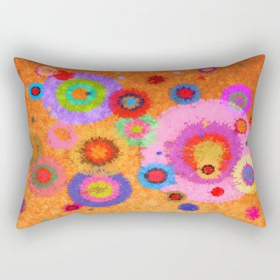 Abstract #427 Splirkles #4 Rectangular Pillow