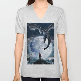 Legend of the moon Unisex V-Neck