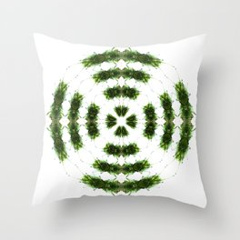301 - Dancing Ferns Throw Pillow