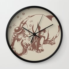 Hippo-Thesis Wall Clock