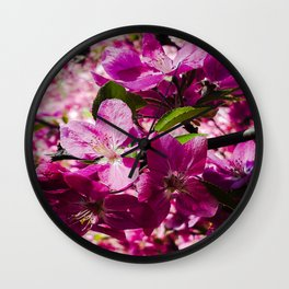 Spring is Upon Us Wall Clock