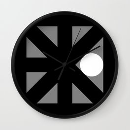 More Than Nothing Wall Clock