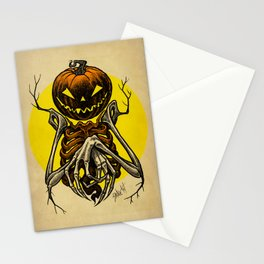 Autumn People 7 Stationery Cards