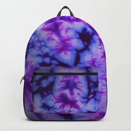 Tie Dye in Blue and Purple Backpack