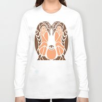 penguins Long Sleeve T-shirts featuring Penguins by Hinterlund