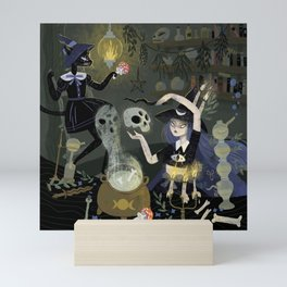 Witches and Potions Mini Art Print
