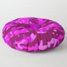 Camouflage (Fuchsia) Floor Pillow