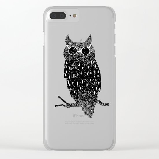 cool bird Clear iPhone Case