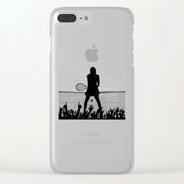 Tennis Ace Clear iPhone Case