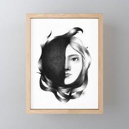 Their Masks Disappear Soon Framed Mini Art Print