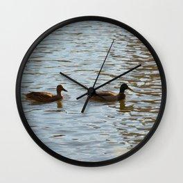 Buds Wall Clock