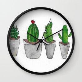 Suck My Succulents Wall Clock