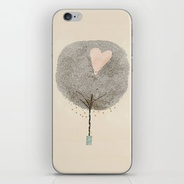 how love grows iPhone Skin