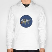 greg guillemin Hoodies featuring Goldfish Greg Lestrade by WhoGroovesOn