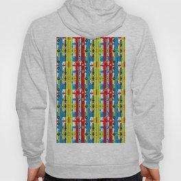 Graphic retro weave Hoody