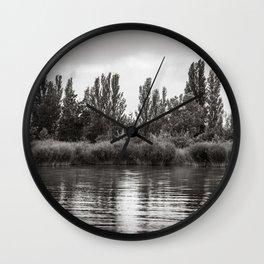 melancholic peace Wall Clock