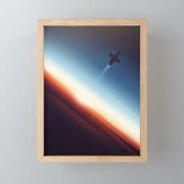 Into Space Framed Mini Art Print