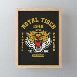 Royal Tiger Framed Mini Art Print