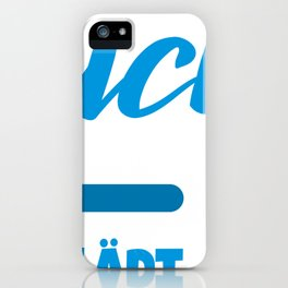 Diver invites loading bar gift iPhone Case