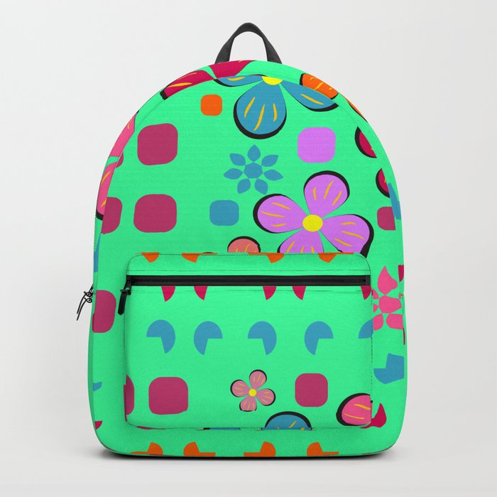 Funny flowers Backpack