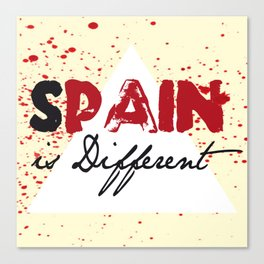 s pain is different Canvas Print