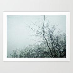 January Fog II Art Print