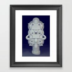 Pearly Framed Art Print